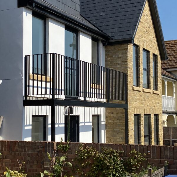 Bespoke balcony railings in Broadstairs