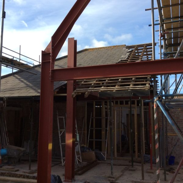 Structural Steels for home extension, Margate Kent