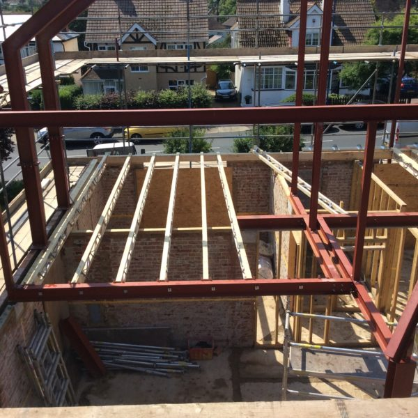 Structural Steels for a complete restoration, Whitstable, Kent