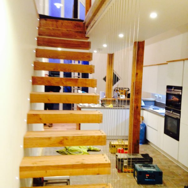 Floating Staircase, Whitstable Kent