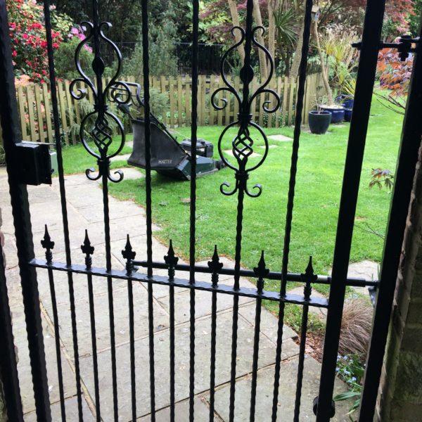 Metal Garden Gate,  Herne Bay