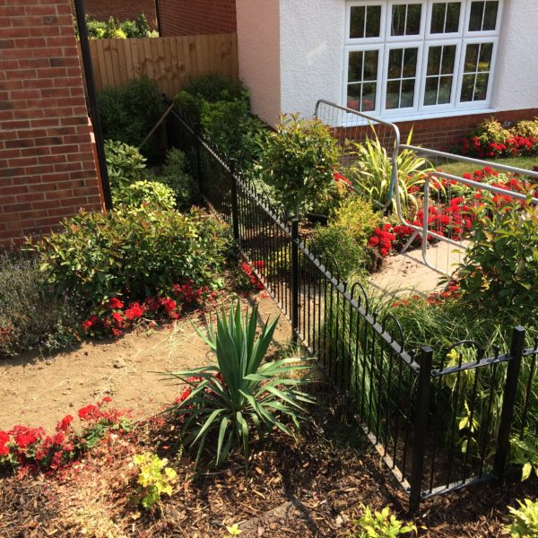 Metal Railings, Herne Bay Kent