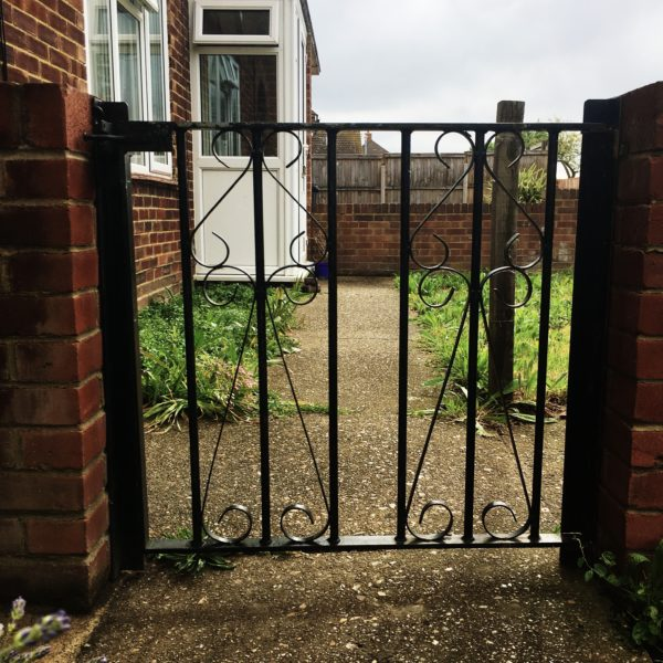 Metal Garden Gate, Margate