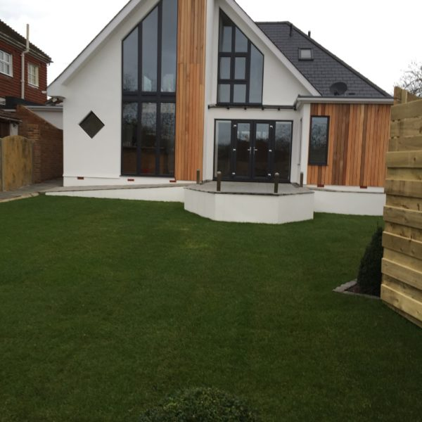 Steel Frame completed project, Canterbury Kent