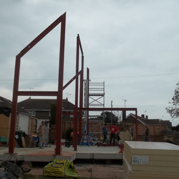 Structural Steel Frame, Canterbury Kent