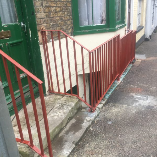 Metal Handrail and Railings, Ramsgate