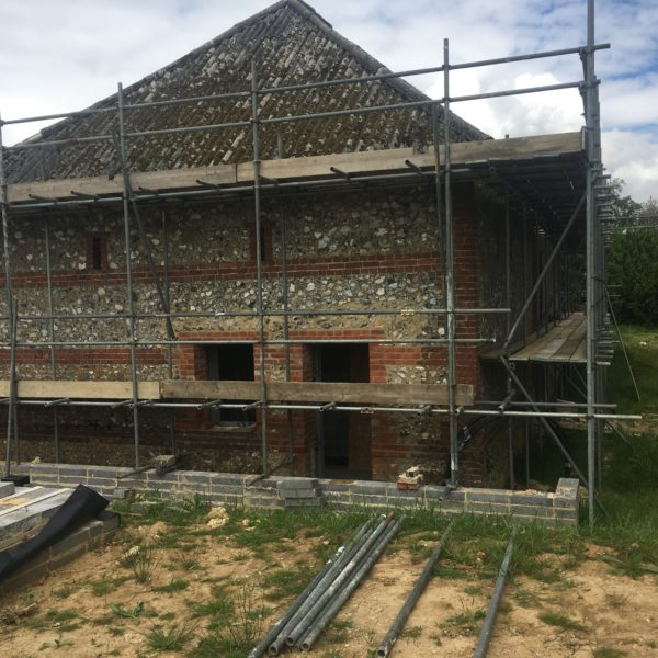 Farm Barn Project, Folkestone Kent