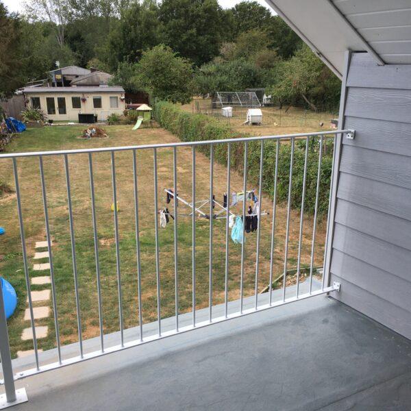 Bespoke balcony railings, Ashford Kent