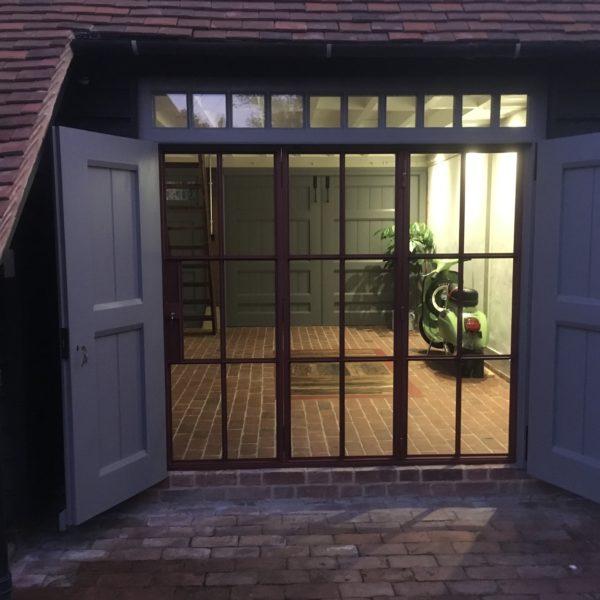 Custom designed internal bifold doors, Canterbury Kent