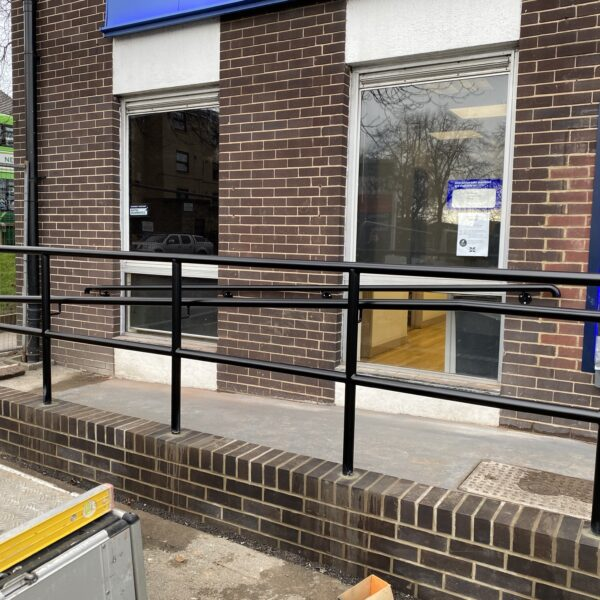 Handrails & Railing for access ramps