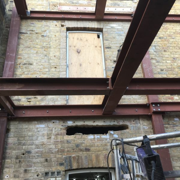 Steel Beam design, Brixton London