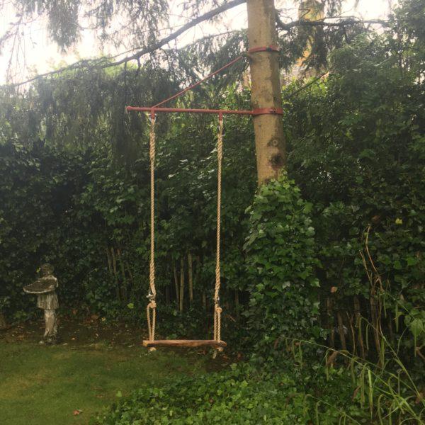 Steel bracket to create a bespoke garden swing, Herne Bay, Kent