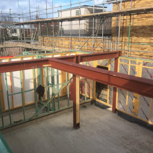 Steel & Timber frame in Whitstable Kent