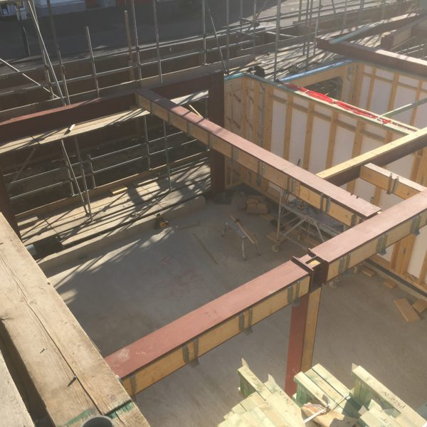 Steel beams manufactured & installed, Whitstable Kent